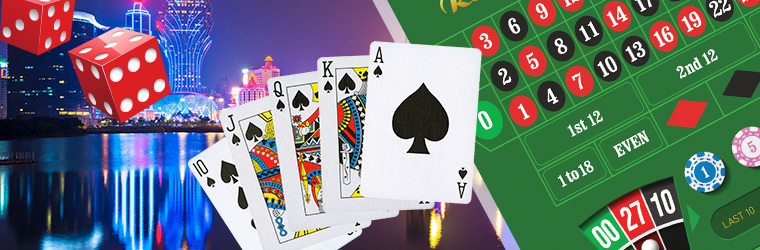 jenis permainan kasino dalam talian
